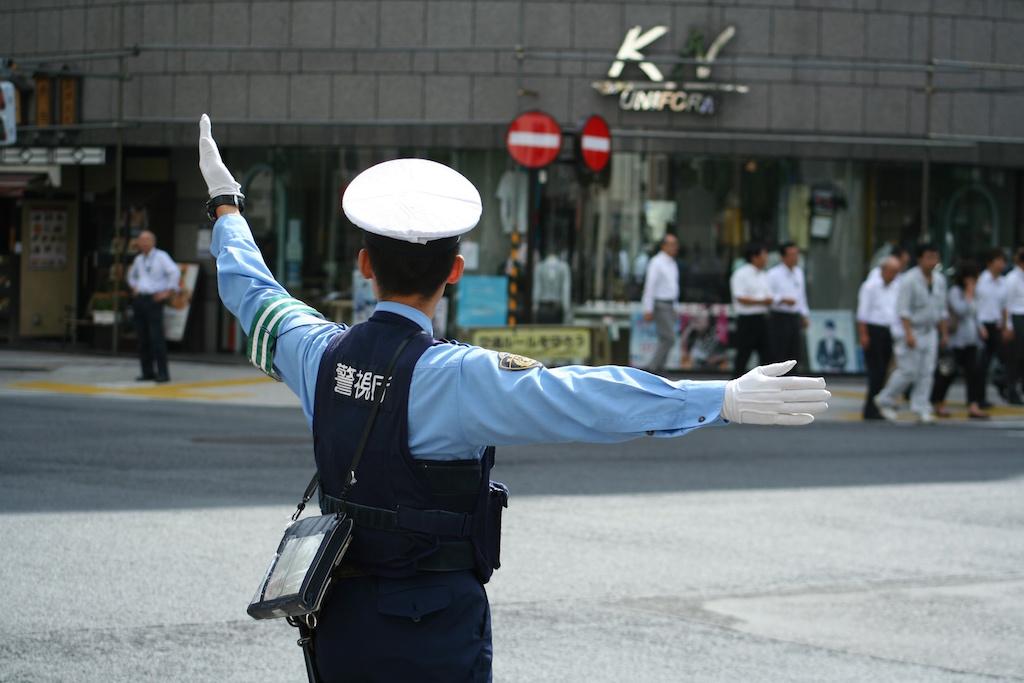 日本の警察官